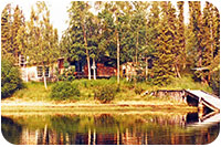 Main lodge building and dock in1984