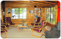 Living room in the Main Lodge