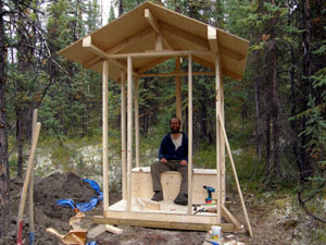 Yukon Log Cabin Construction-6