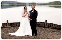 Wedding at Frances Lake